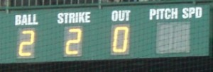 Scoreboard Radar Gun never worked all game
