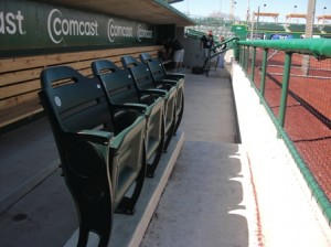 Visiting Team Dugout