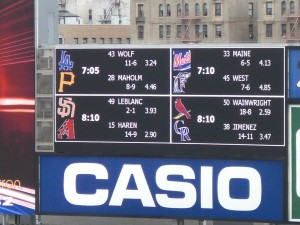 Yankee Stadium Scoreboard
