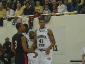 41 is Freshman Glen Rice Jr.  Dad is second all time leading scorer at Michigan and plenty lots of years in NBA.