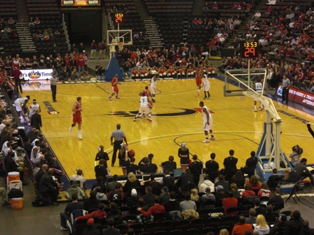 Cincinnati Bearcats vs. Miami Redhawks Basketball | Corey Brinn dot Com