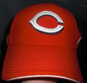 To refresh your memory, here is the front of the hat used the last few seasons.