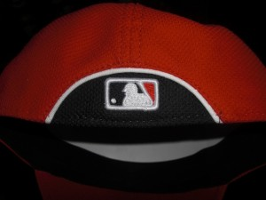 New back to the hat...similar to the side of the old bp hat