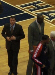 Former University of Cincinnati Bearcats assistant coach John Loyer now on the bench with the New Jersey Nets