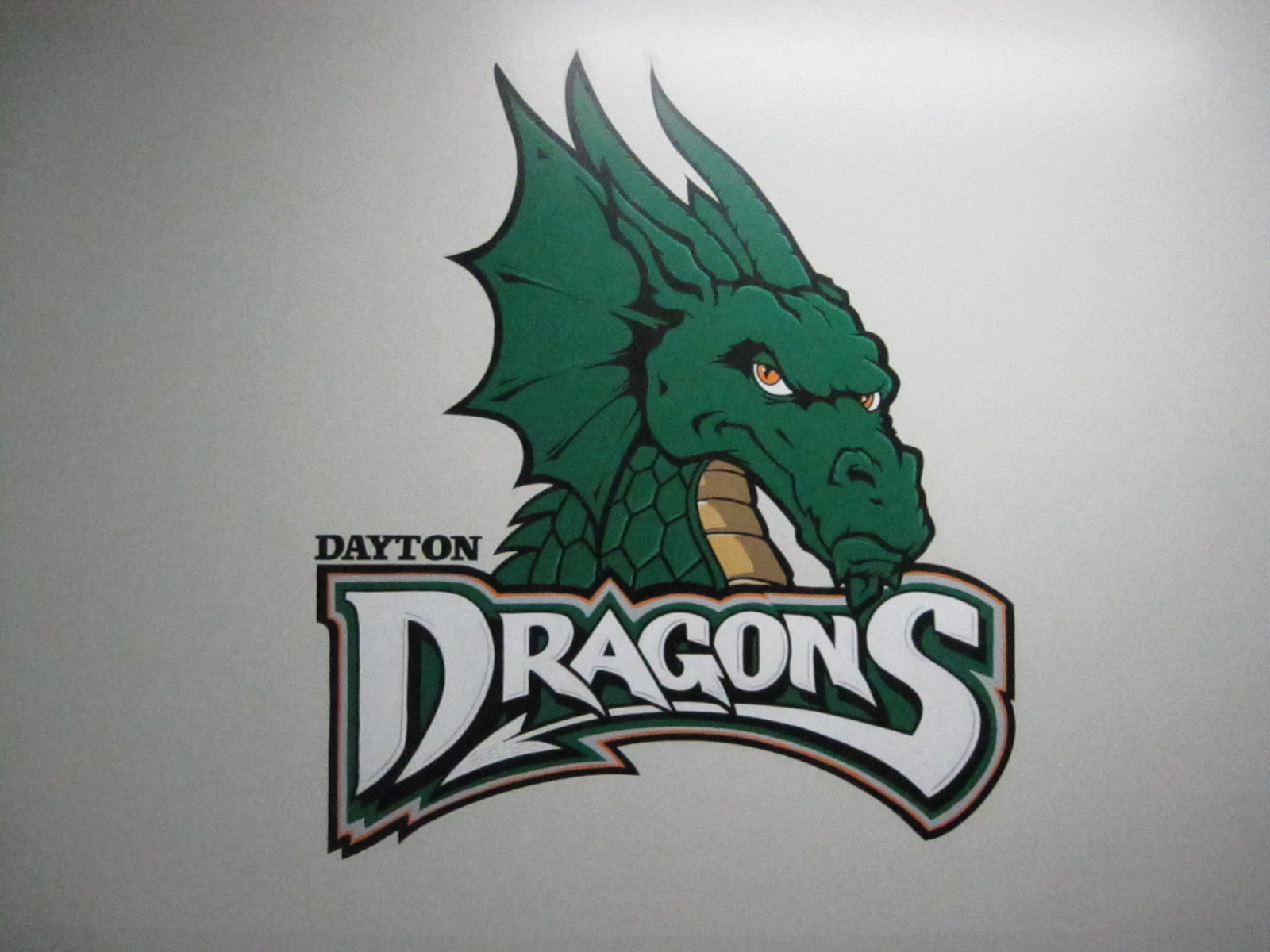 Dragons Baseball Logo